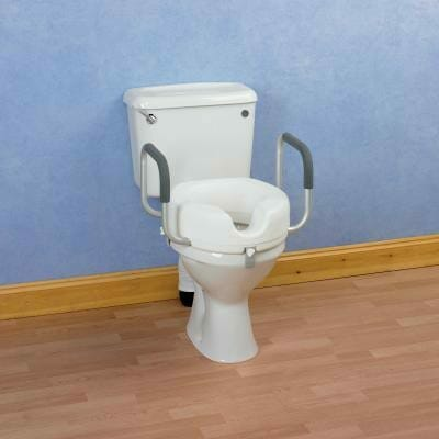 Raised Toilet Seat With Arms Clarks Independence Centre